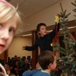 Zdobení vánočního stromu 2012