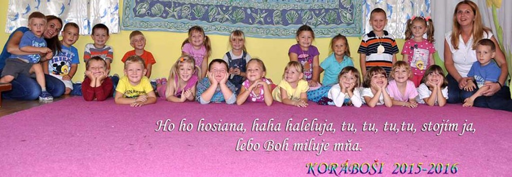 Děti z Korábu v srbské Pivnici, školní rok 2015-2016