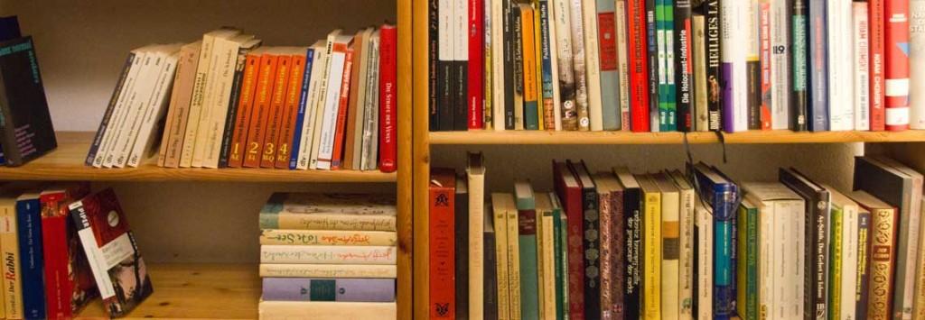Ilustrační foto - knihovna plná knih