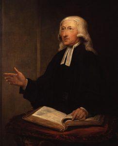 Portrét Johna Wesleye od Williama Hamiltona, 1788 (Public domain, prostřednictvím Wikimedia Commons)