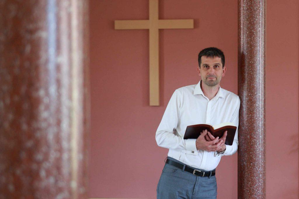 Portrét zodpovědného kazatele. Ctirad Hrubý